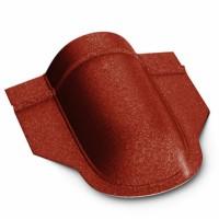 Inchidere coama mare Bilka, rosu GrandeMat (RAL 3011), 0.5 mm