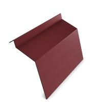 Bordura rupere panta Bilka, convexa, visiniu mat (RAL 3005) 0,45 mm