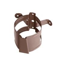 Colier pentru burlan Bilka, 100 mm, maro RAL 8017