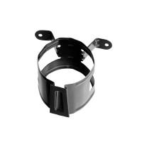 Colier pentru burlan Bilka, 90 mm, negru RAL 9005