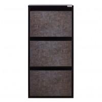 Pantofar Slim 3880, negru + gri stone, 50 x 105 x 15 cm, 1C