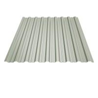 Tabla cutata, T18, alb (RAL 9002), 0.45 mm