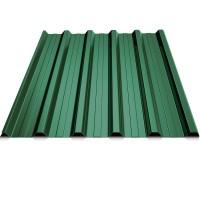 Tabla cutata, T35, verde (RAL 6005), 0.45 mm