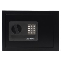 Seif mobila Burg Wachter Favor S5 E, electronic, din tabla de otel, negru, 350 x 250 x 250 mm