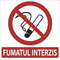 Indicator fumat interzis Sun Prints, autocolant, 18 x 18 cm