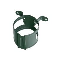 Colier pentru burlan Bilka, 90 mm, verde RAL 6020