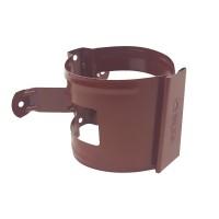 Colier pentru burlan Bilka, 90 mm, visiniu RAL 3005