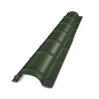 Coama mica Bilka, verde mat (RAL 6020), 2000 x 230 x 0.5 mm