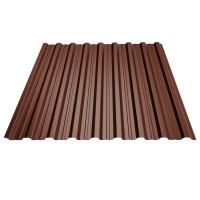 Tabla cutata, T18, maro (RAL 8017), 0.4 mm