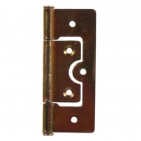 Balama cu inchidere completa pentru usi / obloane, otel, zincat galben, 20 x 63 mm