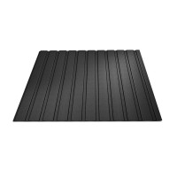 Tabla cutata, T8, negru (RAL 9005), 0.5 mm