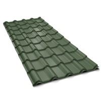 Tigla metalica Bilka Balcanic 35, verde mat (RAL 6020), 0,45 mm