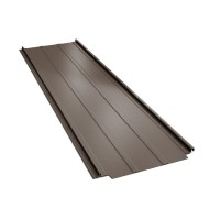 Panou Bilka Retro Panel, maro inchis mat (RAL 8019), 0.5 mm