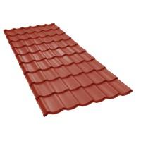 Tigla metalica Baudeman Clasic 35, rosu maroniu mat (RAL 3009)