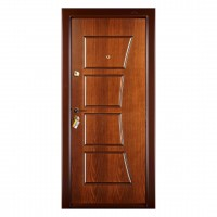 Usa interior metalica Prestige 1 lux 14, dreapta, nuc mat, 200 x 88 cm