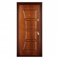 Usa interior metalica Prestige 1 lux 14, stanga, nuc mat, 200 x 88 cm
