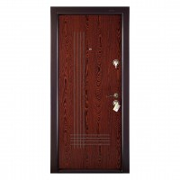 Usa interior metalica Prestige 1 lux 41, stanga, wenge lam, 200 x 88 cm