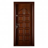 Usa interior metalica Megadoor Prestige 1 lux 68, dreapta, nuc mat, 200 x 88 cm