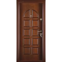 Usa interior metalica Megadoor Prestige 1 lux 68, stanga, nuc mat, 200 x 88 cm