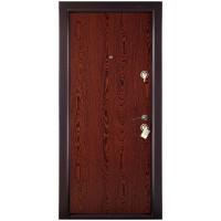 Usa interior metalica Megadoor Prestige 1 lux 00, stanga, wenge, 200 x 88 cm
