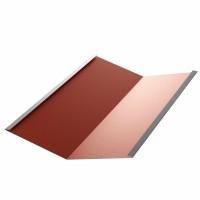 Dolie Bilka, rosu inchis mat (RAL 3009), 0.5 mm