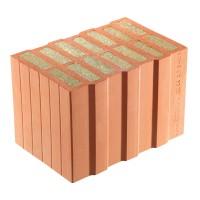 Caramida cu vata bazaltica Porotherm Termoplus, ceramica, 365 x 249 x 248 mm
