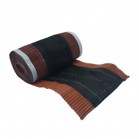 Banda coama Bilka, caramiziu (RAL 8004), 310 mm