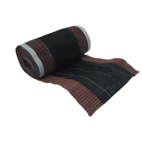 Banda coama Bilka, maro (RAL 8017), 5000 x 310 mm