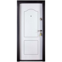 Usa interior metalica Prestige 1 lux 87, stanga, alb, 200 x 88 cm
