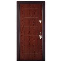 Usa interior metalica Megadoor Prestige 1 lux 131, stanga, wenge, 200 x 88 cm