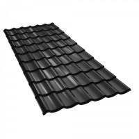 Tigla metalica Baudeman Clasic 35, negru lucios (RAL 9005)