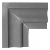 Colt decorativ NA107, 90 grade, 200 x 200 x 30 mm, 2 buc / set