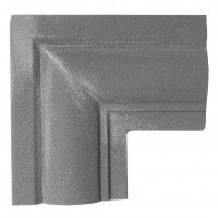 Colt decorativ NA118, 90 grade, 200 x 200 x 40 mm, 2 buc / set