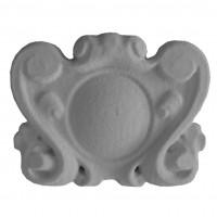 Element decorativ Accent 3D Cartus, 245 x 195 x 30 mm
