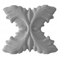 Element decorativ Accent 3D Flourish, 220 x 190 x 30 mm