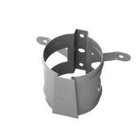 Colier pentru burlan Baudeman, 90 mm, aluzinc