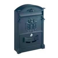 Cutie postala pentru interior / exterior Rottner Ashford T05375, tabla otel, negru, 26 x 9 x 41 cm