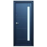 Usa metalica pentru exterior Tracia Pontus, dreapta, gri antracit, 205 x 88 cm + accesorii