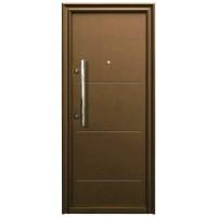 Usa metalica pentru exterior Tracia Traiana, dreapta, diverse culori, 205 x 88 cm + accesorii