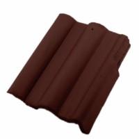 Tigla laterala dreapta Bramac Skandia, maro roscat, 330 x 420 mm