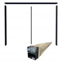Cadru gard tip jaluzea 1530 x 2000 / 80, tabla otel zincat, RAL 7016