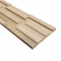 Panou lemn stejar 3D Extra, 1268 x 288 x 36 mm