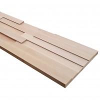 Panou lemn fag 3D Extra, 1268 x 288 x 36 mm