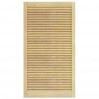 Usa de interior lamelara Digitop ULP, pentru constructie mobilier, pin, 69 x 49.4 cm