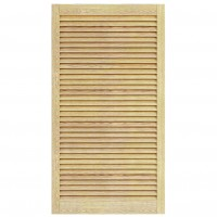 Usa de interior lamelara Digitop ULP, pentru constructie mobilier, pin, 69 x 59.4 cm