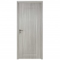 Usa de interior din lemn, BestImp B01-78-N, stanga / dreapta, gri, 203 x 78 cm