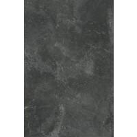 Blat bucatarie Kronodesign K205RS, PAL, finisaj piatra, negru, 2.8 x 60 x 304 cm