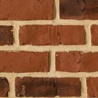 Panou decorativ Modulo Decopano Red Brick, interior, rosu (cutie = 2.4 mp)