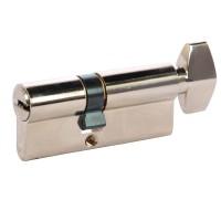 Cilindru siguranta Yale, alama, cu buton, 5 chei cu amprenta, 30 x 40 mm