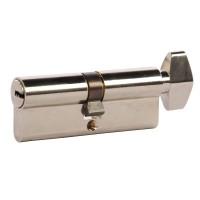 Cilindru siguranta Yale, alama, cu buton, 5 chei cu amprenta, 40 x 40 mm